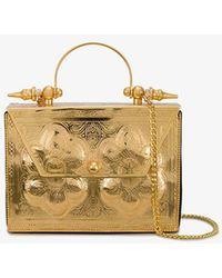OKHTEIN - Palmette Minaudière Box Bag - Lyst