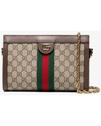 Gucci Ophidia GG Small Shoulder Bag - Natural