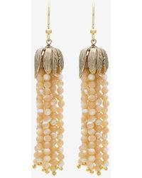 Rosantica - Metallic Grillo Tassel Earrings - Lyst