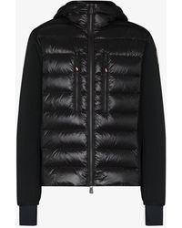 3 MONCLER GRENOBLE Zip-up Quilted Jacket - Black