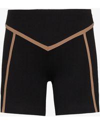 Ernest Leoty Corset Panelled Stretch Shorts - Black