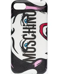 Moschino - Logo Print Iphone 8 Case - Lyst