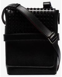 Christian Louboutin - Benech Studded Messenger Bag - Lyst