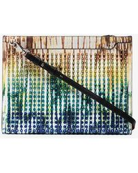 Christian Louboutin - Multicoloured Skypouch Leather Bag - Lyst