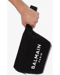 Balmain Logo Bumbag - Black