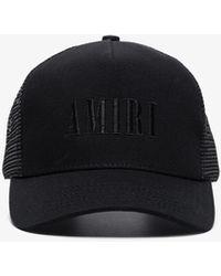 Amiri Core Trucker Logo Cap - Black