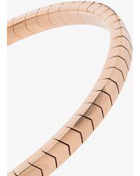 Jacquie Aiche 14k Rose Gold Chevron Bracelet - - 14kt Rose Gold - Pink