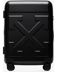 Off-White c/o Virgil Abloh Arrow Trolley Suitcase - Black