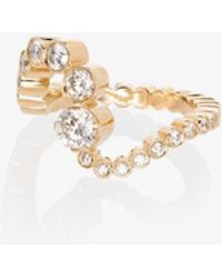 Sophie Bille Brahe 18k Grand Ocean Ensemble Diamond Ring - Metallic
