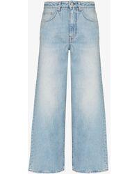 Totême High-waisted Flared Jeans - Blue