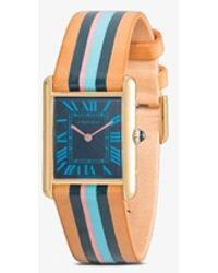 La Californienne Reworked Vintage Cartier Blueberry Watch - Metallic