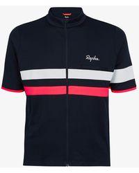 Rapha Brevet Cycling T-shirt - Blue