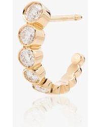 Sophie Bille Brahe - 18k Boucle Diamond Single Earring - Lyst