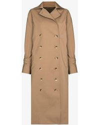 Totême Double-breasted Trench Coat - Natural