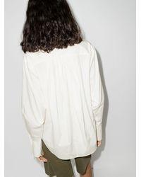 FRAME The Oversized Shirt - White