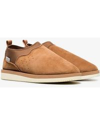 Suicoke - Brown Ron-m Suede Leather Mid Boots - Lyst