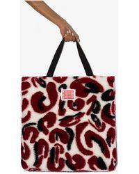 Charles Jeffrey LOVERBOY X Browns 50 Multicoloured Patterned Fleece Tote Bag