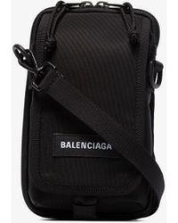 Balenciaga Black Explorer Mini Pouch Bag