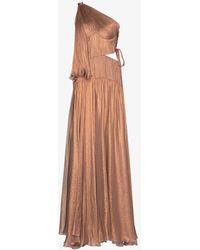 Maria Lucia Hohan Matilda One Shoulder Gown - Pink