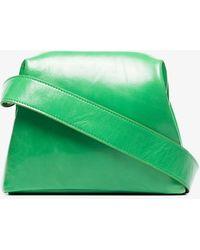OSOI Mini Brot Leather Cross Body Bag - Green