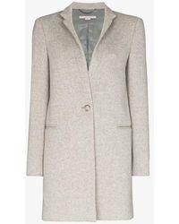 Stella McCartney Single-breasted Coat - Grey