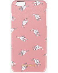 Miu Miu - Cat Print Iphone 6 Plus Case - Lyst