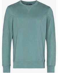 Frescobol Carioca Sergio Organic Cotton Sweatshirt - Blue