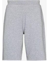 Sunspel Loopback Cotton Shorts - Grey