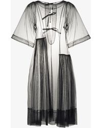Molly Goddard X Browns Rebecca Tulle Shift Dress - Blue