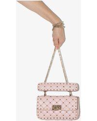 Valentino Garavani Rockstud Small Spike Chain Bag - Pink