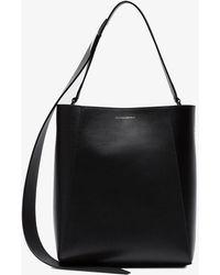 CALVIN KLEIN 205W39NYC - Buck Stripe Leather Bucket Bag - Lyst