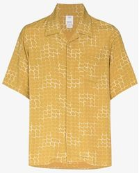 Visvim Printed Bowling Shirt - Yellow