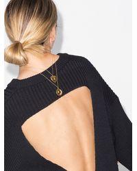 Sasha Samuel -plated Heather Locket Necklace - - 14k Plated Brass - Metallic