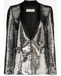 Golden Goose Deluxe Brand Sequin Blazer - Metallic