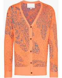 Paria Farzaneh Iranian Motif Cardigan - Orange