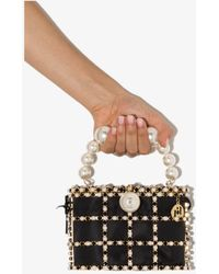 Rosantica Holli Embellished Mini Bag - Black