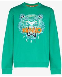 KENZO Tiger Sweat - Green