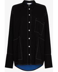 Paris Georgia Basics Harry Oversized Shirt - Black