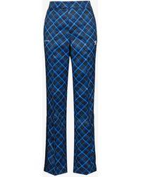 adidas X Wales Bonner Tartan Tailored Track Trousers - Blue