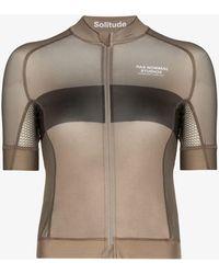 Pas Normal Studios Solitude Cycling Jersey - Brown