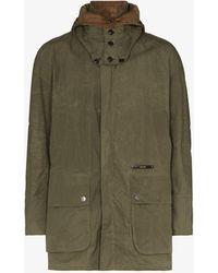 Barbour Gold Standard Beaufort Waxed Jacket - Green
