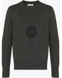 Craig Green Hole Wool Sweater - Gray