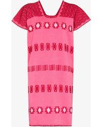Pippa Holt Supermini Kaftan Dress - Pink