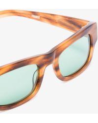 FLATLIST Frankie Tortoiseshell Rectangular Sunglasses - Brown