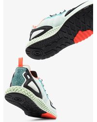 adidas Zx 2k 4d Trainers - Green