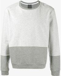 Lot78 - Colour Block Sweatshirt - Lyst