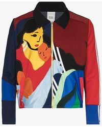 BETHANY WILLIAMS X The Magpie Project Recycled Panelled Jacket - Red