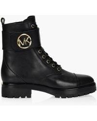 MICHAEL Michael Kors Tatum Ankle Boot - Black