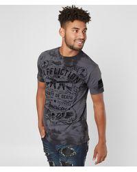 Affliction - Don't Tread T-shirt - Lyst