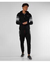 Superdry ® Gym Tech Color Block Hoodie - Black